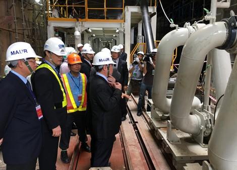 Robot 300 tấn bắt đầu đào hầm tuyến metro của Sài Gòn - ảnh 1