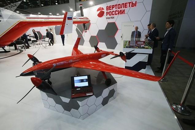 Một máy bay không người lái do hãng Russian Helicopters của Nga chế tạo