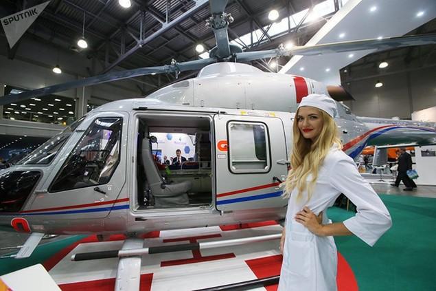 Trực thăng đa năng hạng nhẹ Ansat của Nga
