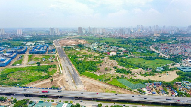 Toàn cảnh tuyến đường nghìn tỷ đang gấp rút hoàn thành tại Hà Nội - ảnh 1