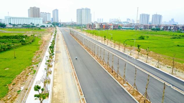 Toàn cảnh tuyến đường nghìn tỷ đang gấp rút hoàn thành tại Hà Nội - ảnh 8
