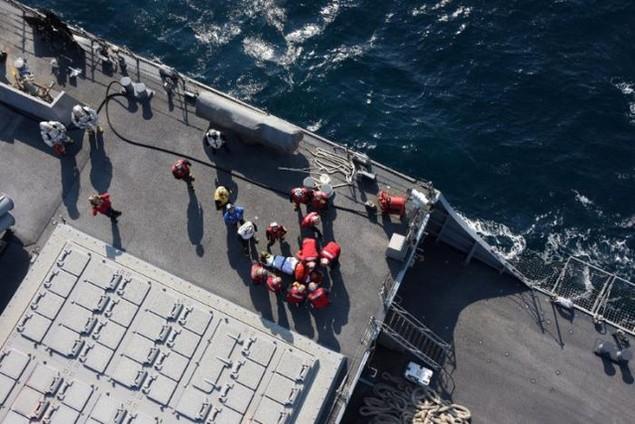 7 thủy thủ khác của Hải quân Mỹ cũng mất tích sau vụ va chạm.