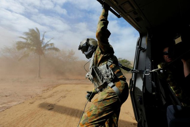 Mỹ - Australia rầm rộ tập trận quân sự chung lớn nhất - ảnh 3