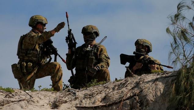 Mỹ - Australia rầm rộ tập trận quân sự chung lớn nhất - ảnh 4