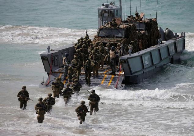 Mỹ - Australia rầm rộ tập trận quân sự chung lớn nhất - ảnh 6