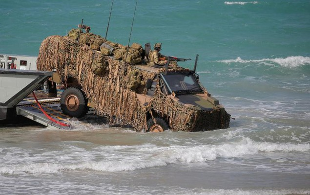 Mỹ - Australia rầm rộ tập trận quân sự chung lớn nhất - ảnh 11