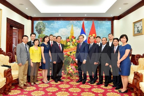 Nhiều hoạt động kỷ niệm Năm Đoàn kết Việt-Lào, Lào-Việt - ảnh 1