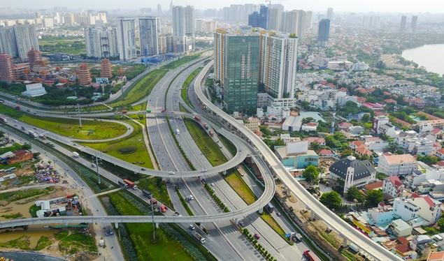 Những cây cầu uốn lượn giải tỏa ùn tắc ở TP HCM - ảnh 3