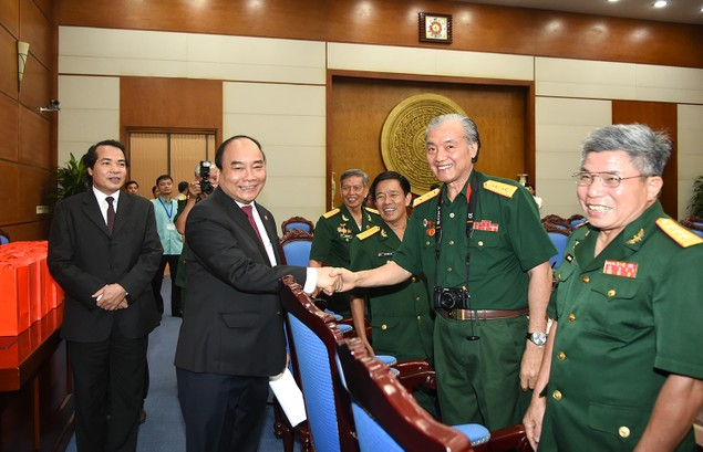 Thủ tướng gặp mặt Hội truyền thống Trường Sơn-Đường Hồ Chí Minh - ảnh 2