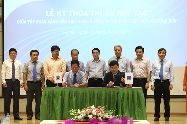Công ty Lọc hóa dầu Bình Sơn hợp với Tập đoàn Xăng dầu Việt Nam - ảnh 1