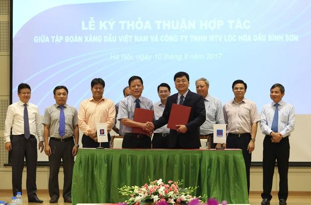 Công ty Lọc hóa dầu Bình Sơn hợp với Tập đoàn Xăng dầu Việt Nam - ảnh 2