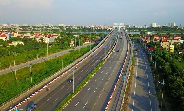Năm tuyến đường hơn tỷ USD hiện đại nhất Thủ đô - ảnh 11