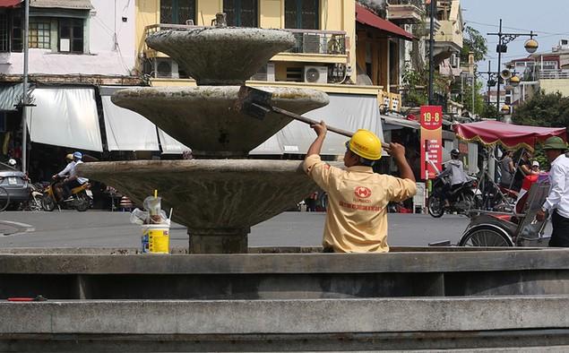Hà Nội trang hoàng cờ hoa trước ngày Quốc khánh - ảnh 3